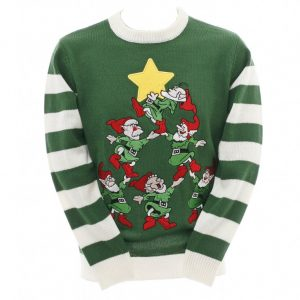 Green Elves jumper