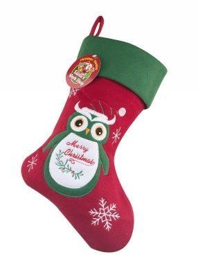 Owl Christmas Stocking