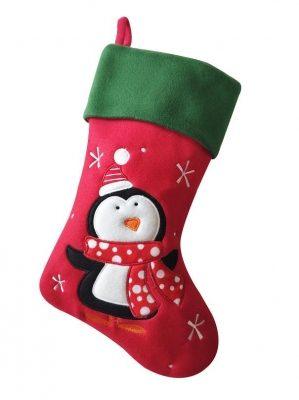 Pet Penguin Christmas Stocking